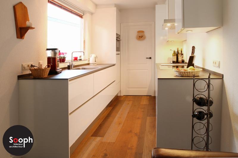 Interne verbouwing u keuken en woonkamer