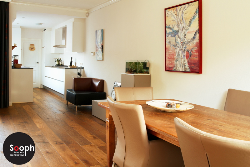 Interne verbouwing – keuken en woonkamer |