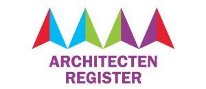 ingeschreven bij het architectenregister