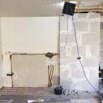 interne verbouwing tv meubel