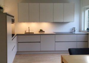 nieuwe keuken goor