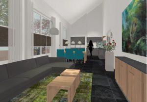 3D appartement school