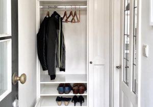 Garderobe entree kast op maat